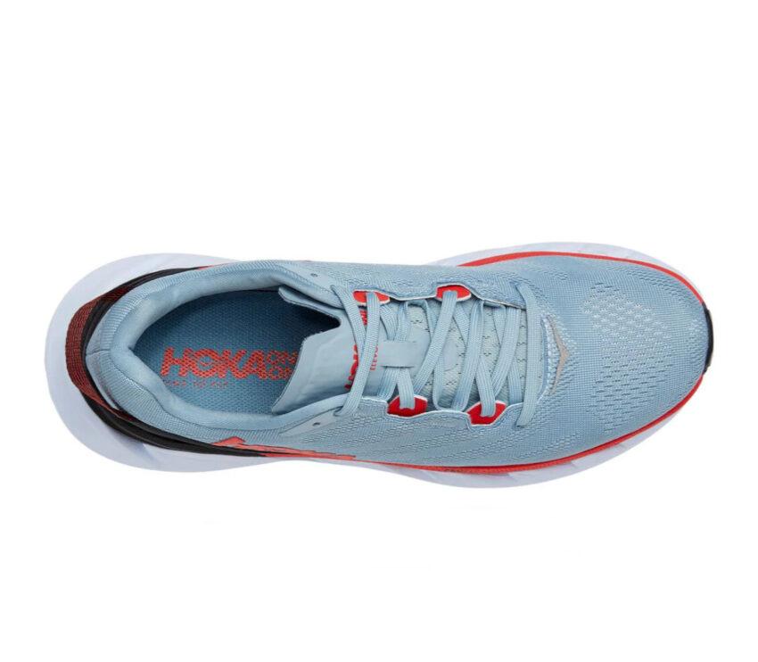 scarpe da running hoka elevon 2 uomo grigie