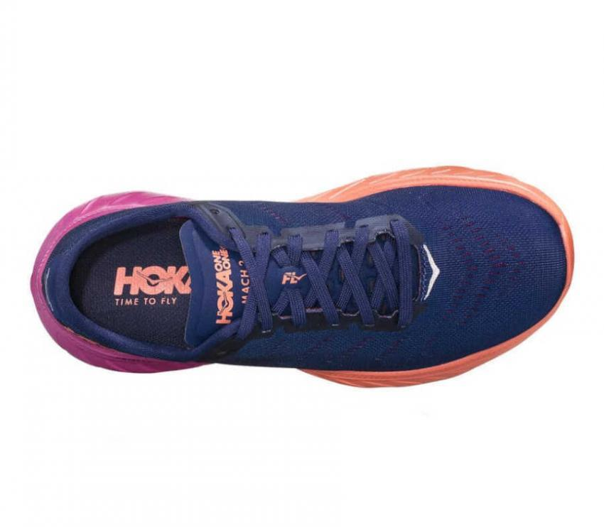 sopra scarpe running donna hoka one one mach 2 mbvb