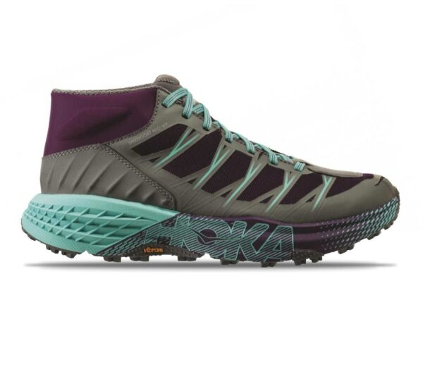 scarpe trail running donna hoka one one speedgoat mid wp