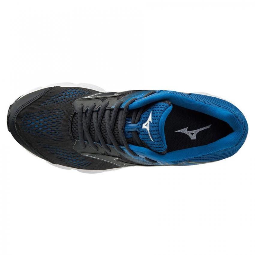 vista sopra scarpa running uomo pronazione mizuno wave 15