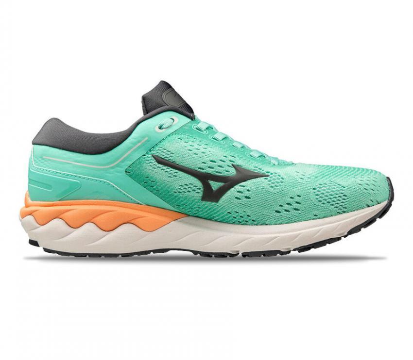 scarpa da tunning donna mizuno wave skyrise verde