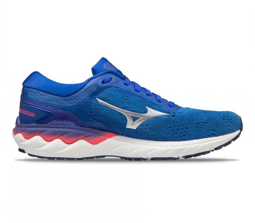 scarpa da tunning donna mizuno wave skyrise blu