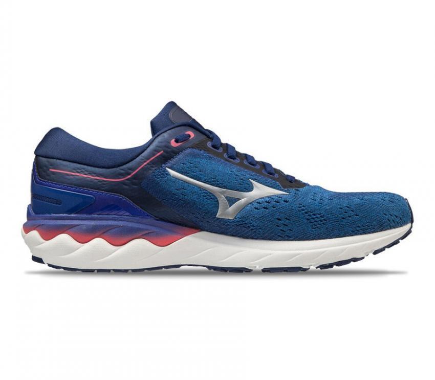 scarpe running uomo mizuno skyrise blu