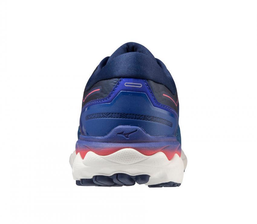 tallone scarpa running uomo mizuno wave skyrise blu