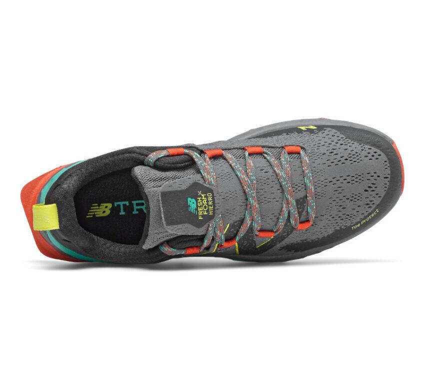 tomaia scarpe trail running new balance hierro v5 uomo