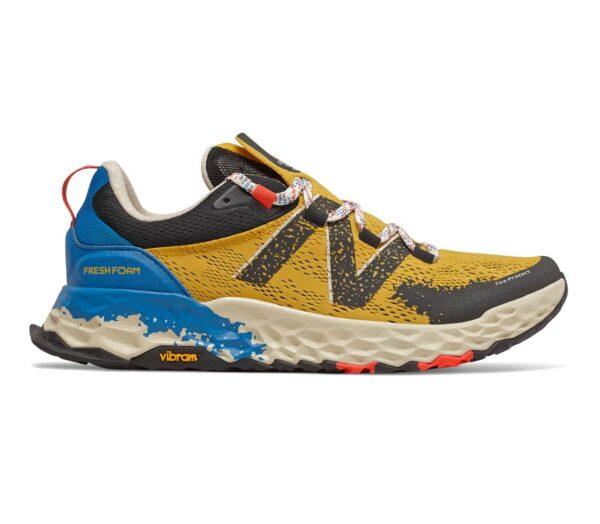 scarpa da trail running uomo new balance hierro vr gialla e blu