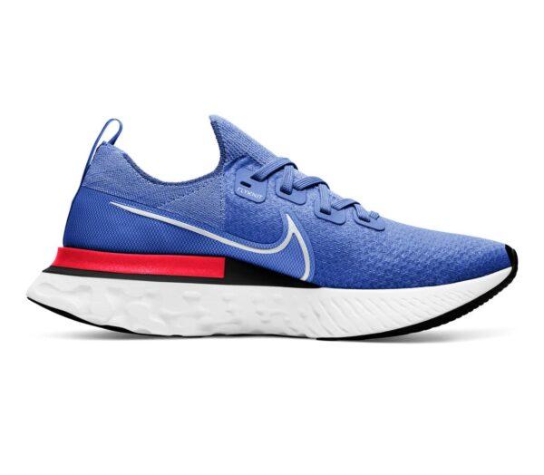scarpa da running uomo nike react infinity run blu