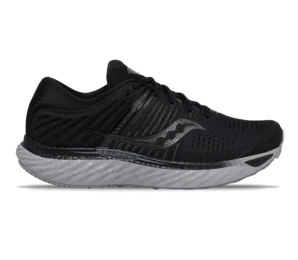 saucony triumph 17 scarpa running donna nera