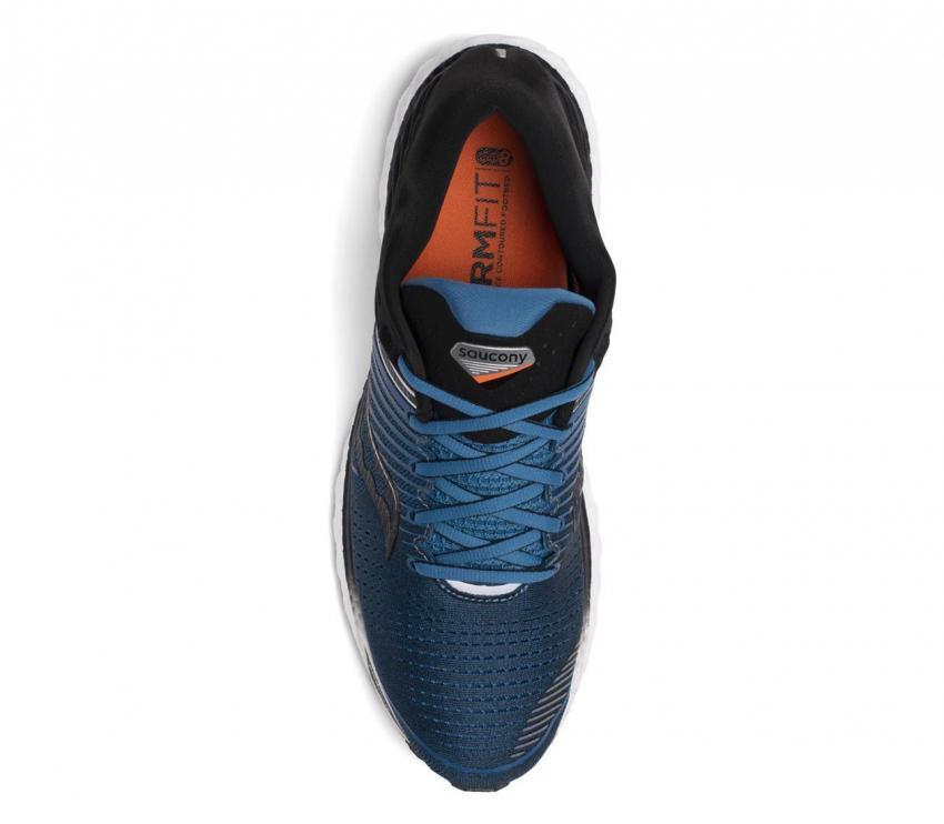 saucony triumph 17 scarpa running uomo vista dall'alto