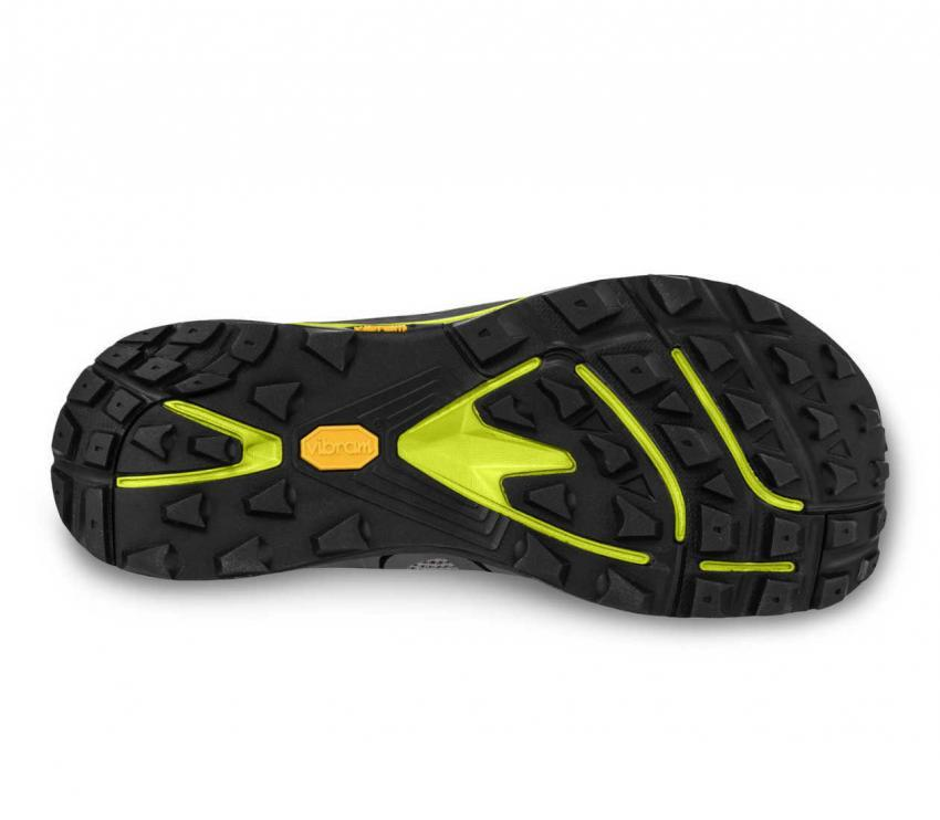 suola scarpa trail uomo topo ultraventure verde