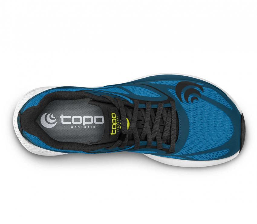sopra topo zephyr blue black uomo scarpa running