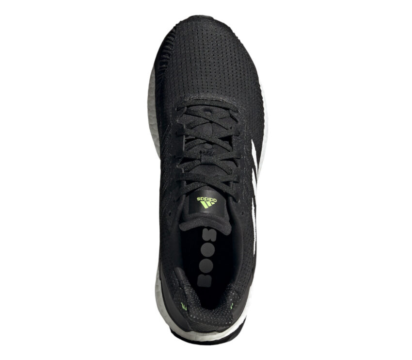 tomaia scarpa da running uomo adidas solar boost 19 nera
