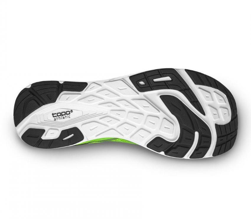 suola scarpa da running topo magnify 2 green