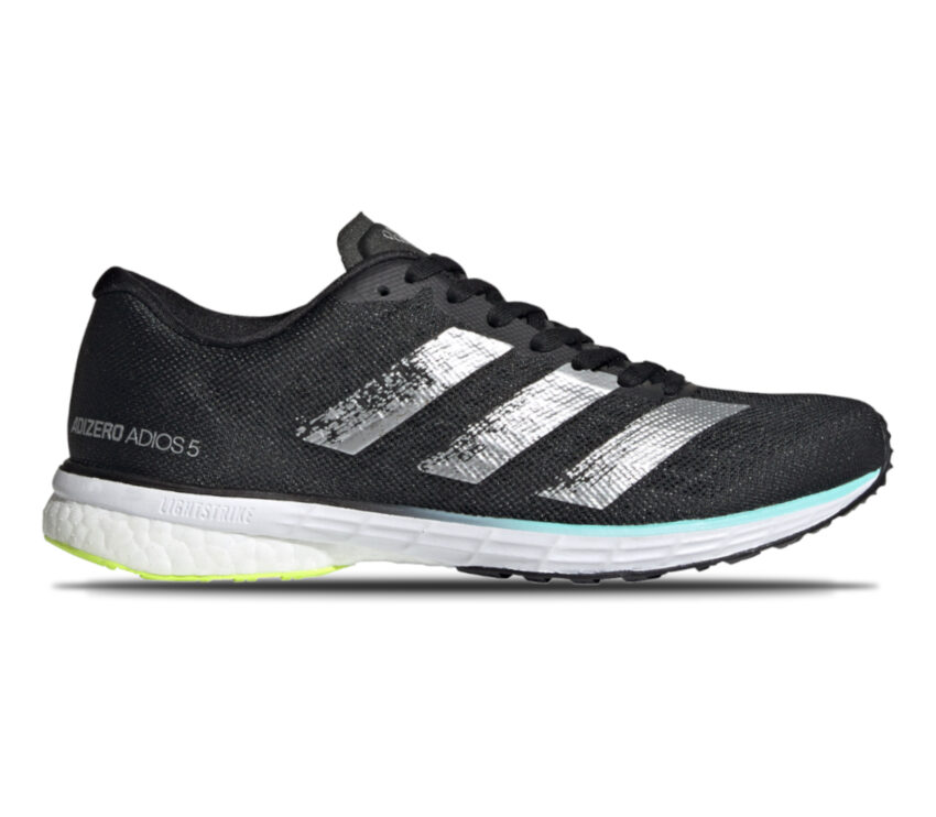 scarpa da donna per atletica e pista adidas adizero adios 5 nera