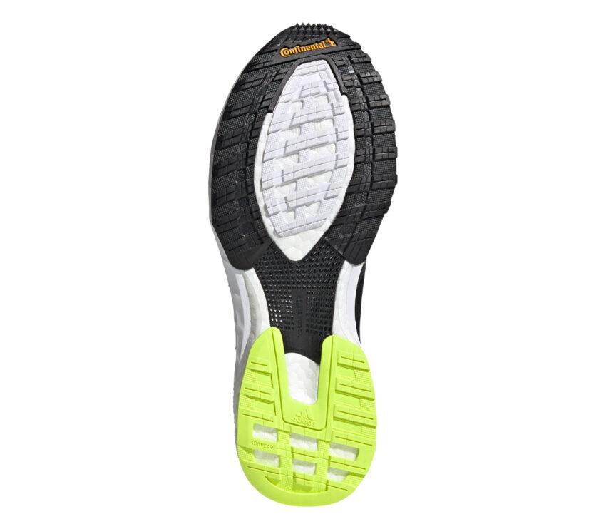 suola scarpa da donna per atletica e pista adidas adizero adios 5 nera