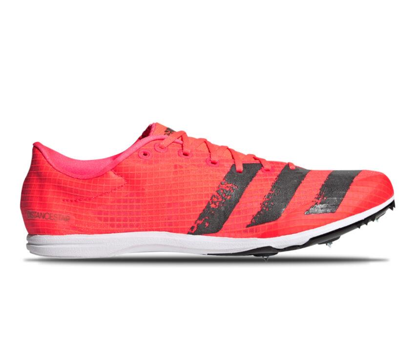 scarpa da pista mezzofondo adidas distancestar rossa