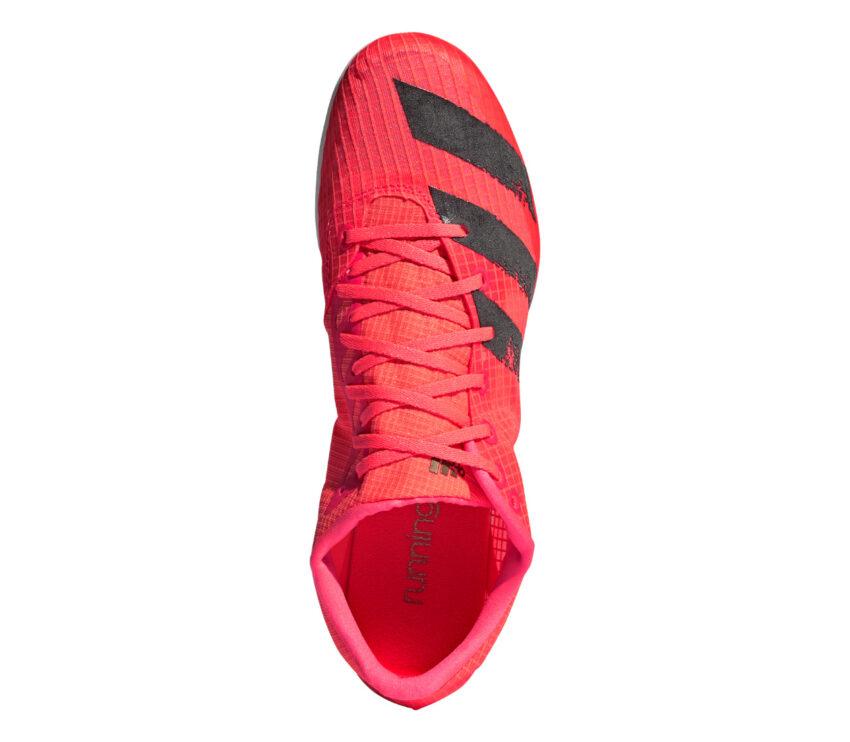 tomaia scarpa da pista mezzofondo adidas distancestar rossa