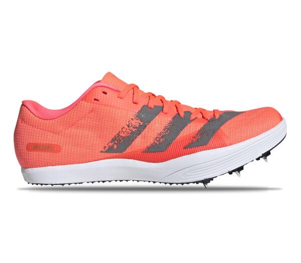 Scarpe salto in lungo adidas adizero lj arancione