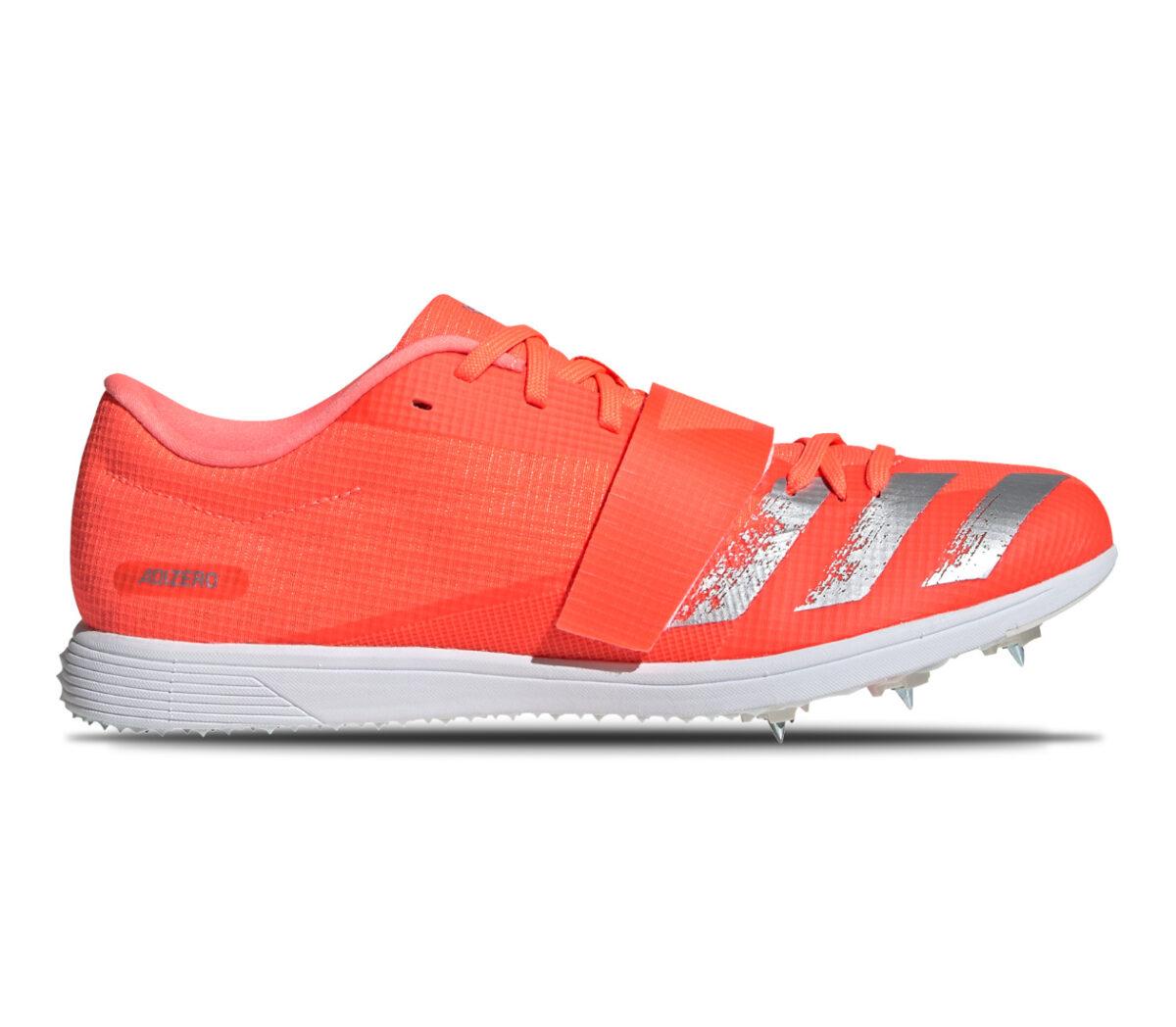 scarpa da pista per salto triplo adizero tj pv rossa