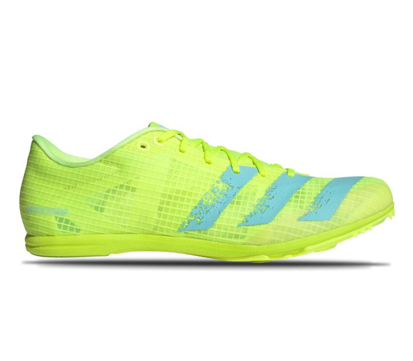 scarpa da atletica leggera adidas distancestar fluo