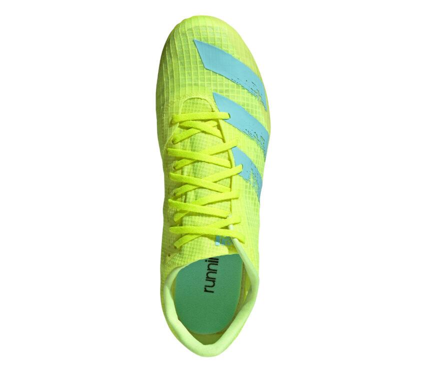 tomaia scarpa da atletica leggera adidas distancestar fluo