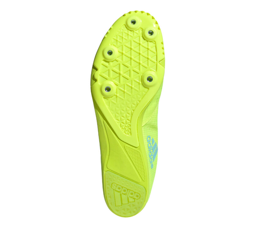 suola chiodata scarpa da atletica leggera adidas distancestar fluo