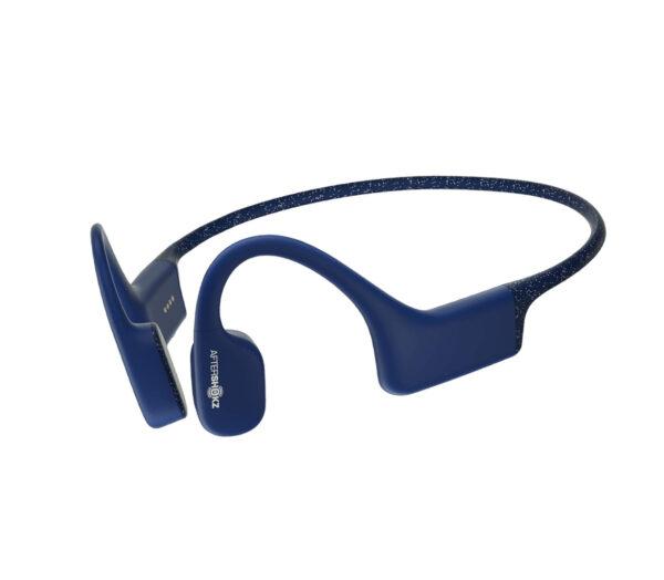 cuffie a conduzione ossea xtrainerz sapphire blue aftershok