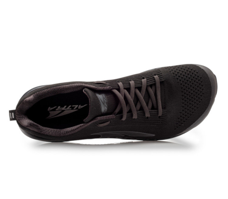 scarpa running uomo altra paradigm 4.5 nera vista da sopra