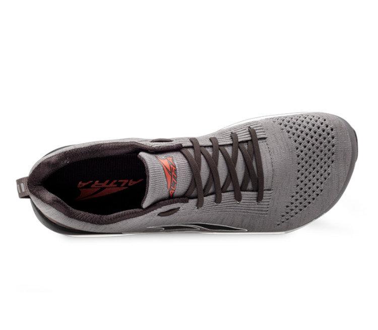 scarpa da corsa altra running paradigm 4.5 vista da sopra