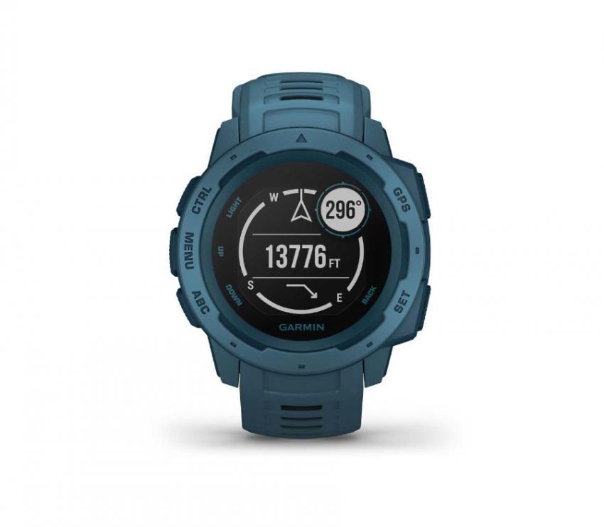 orologio gps running blu