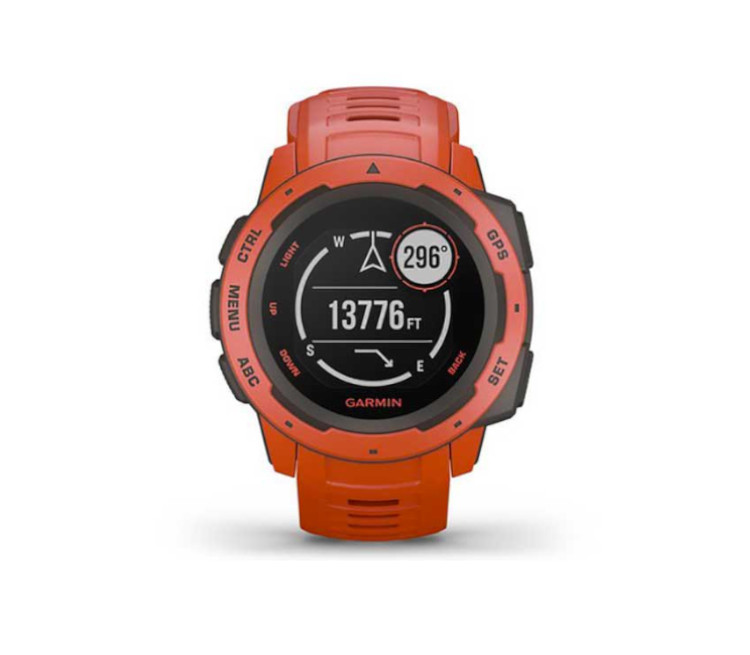 orologio gps running flame red
