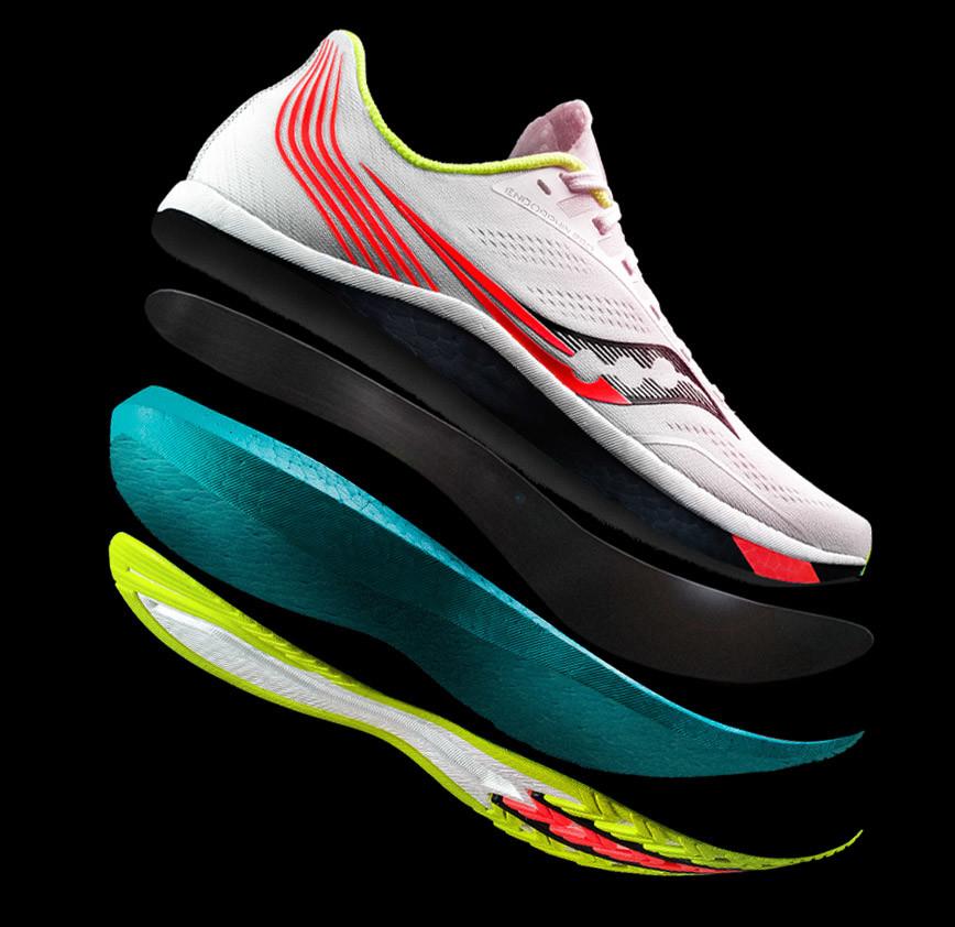 scarpe saucony in fibra di carbonio