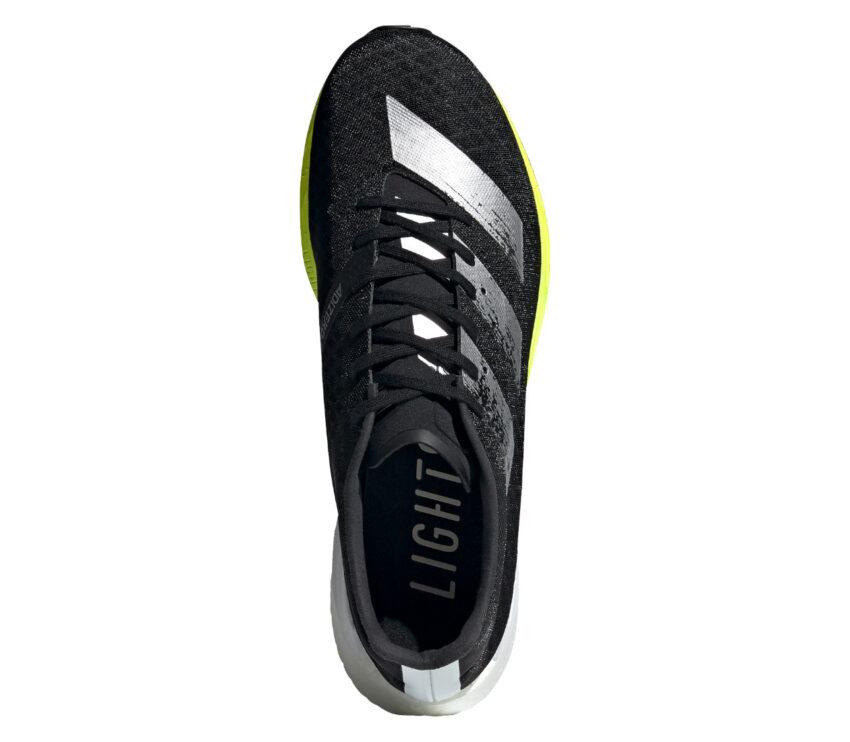 scarpa adidas running adidas adizero prp nera vista dall'alto