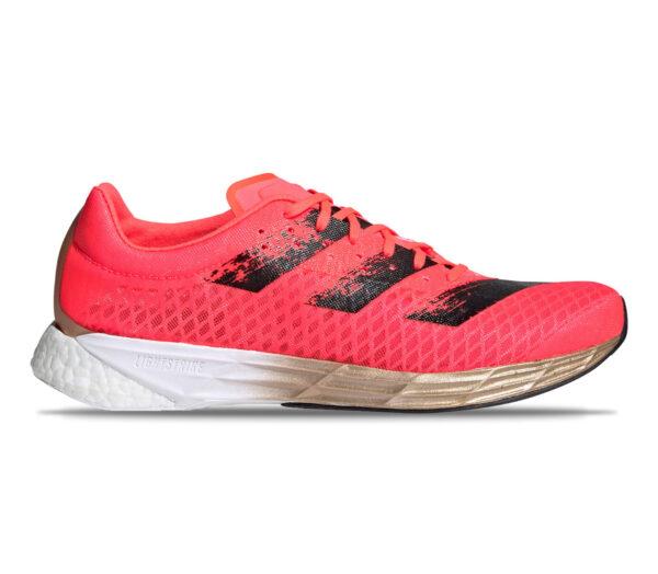 scarpa con suola in fibra di carbonio adidas adizero pro