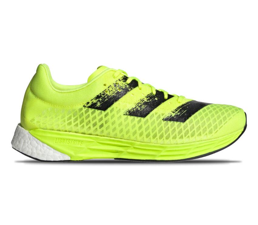scarpa running uomo adidas adizero pro gialla fluo e nera