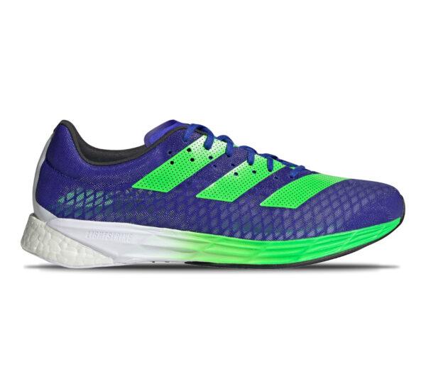 scarpa da running uomo reattiva adidas adizero pro blu e verde