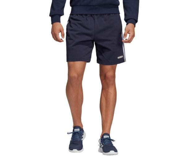 pantaloncino running adidas blu