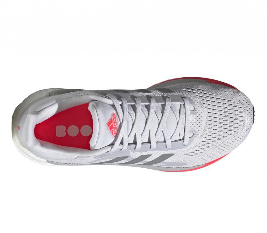 tomaia scarpa da running donna adidas solar glide 3 bianca