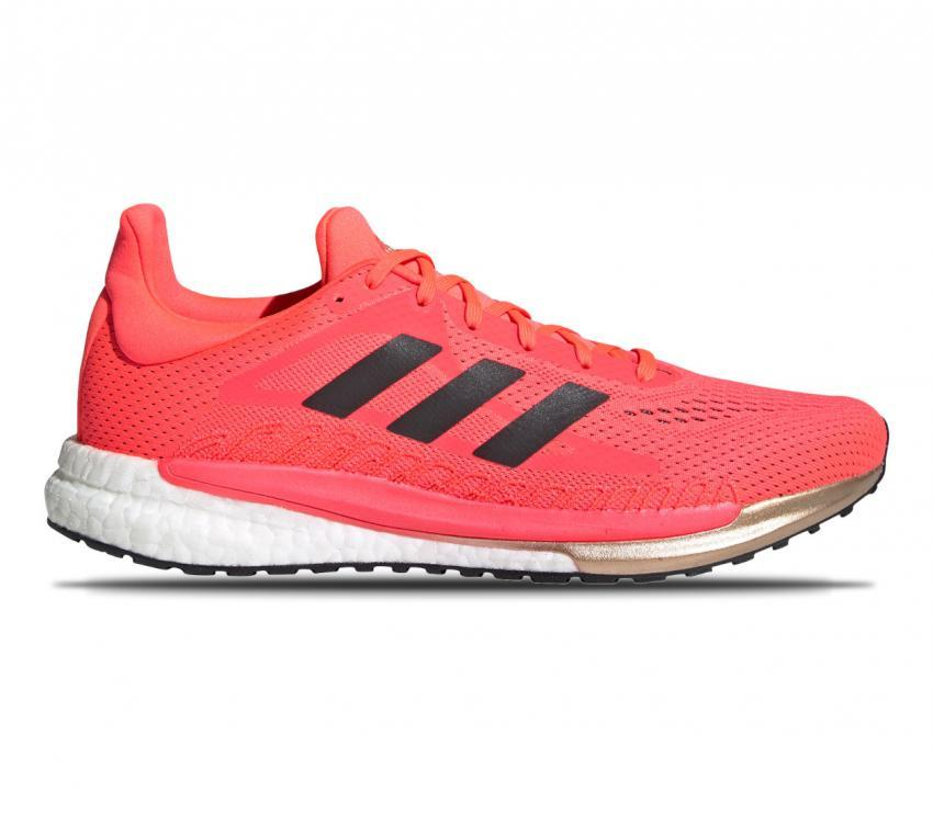 scarpa da running uomo adidas solar glide 3 rossa
