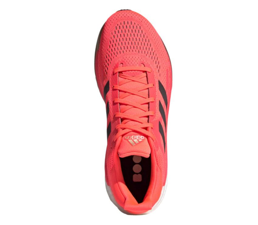 tomaia scarpa da running uomo adidas solar glide 3 rossa