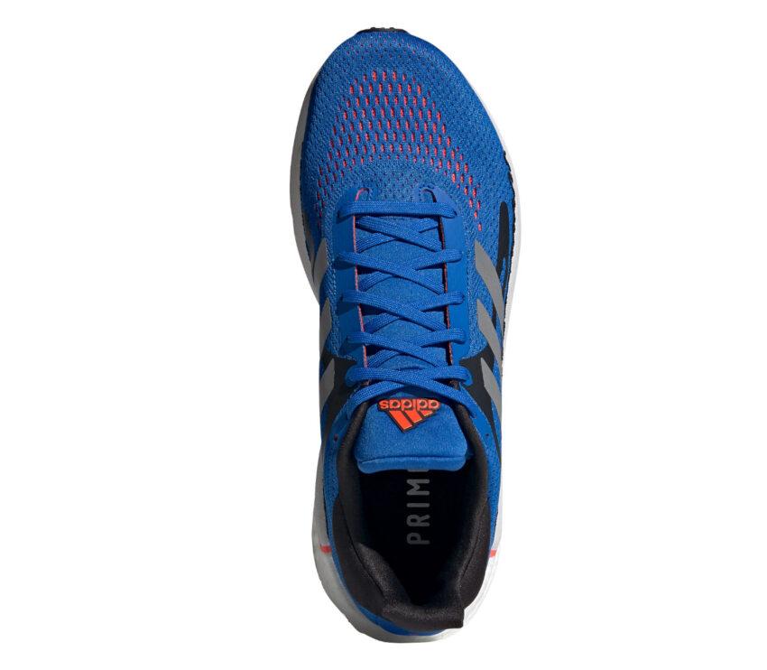 tomaia scarpa da running uomo adidas solar glide 3 blu
