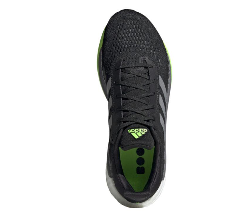 tomaia scarpa da running uomo adidas solar glide 3 verde