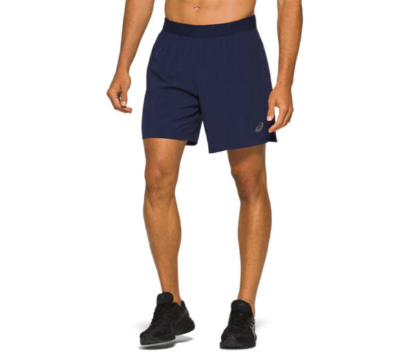 shorts da running asics road 2 in 1 7in