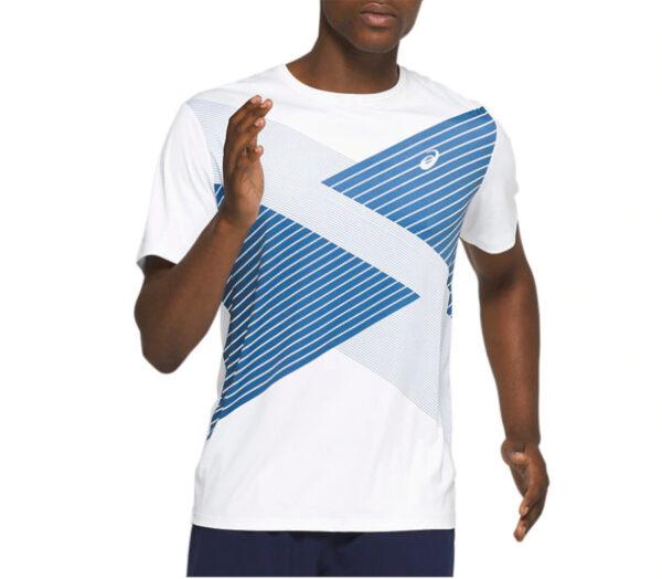 t-shirt da running uomo asics ss tokyio uomo