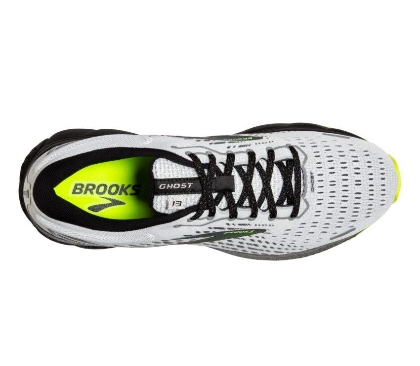 scarpa running donna brooks ghost 13 vista da sopra