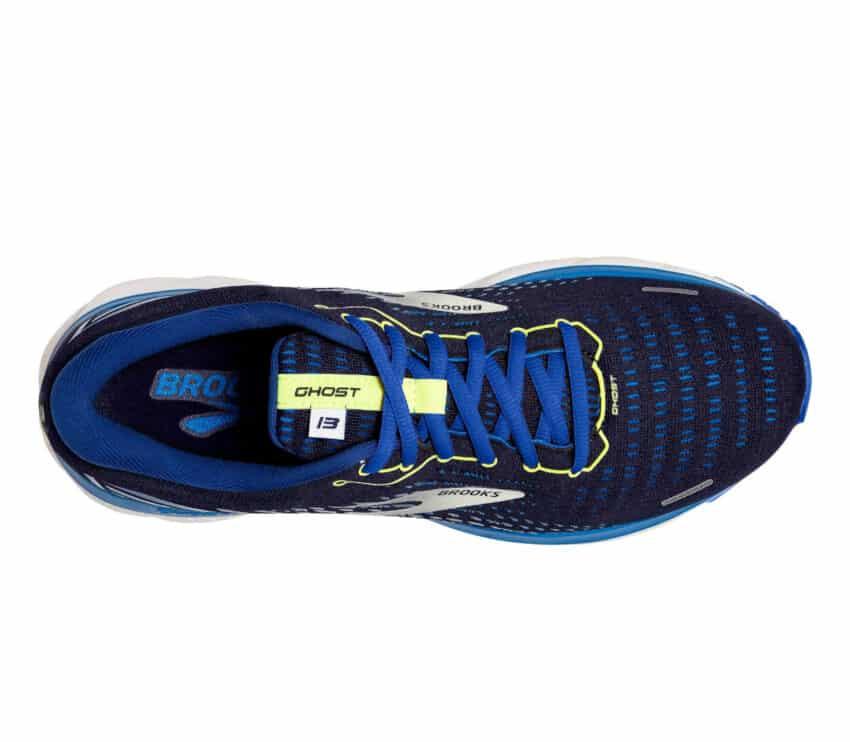 tomaia scarpa da running brooks ghost 13 uomo