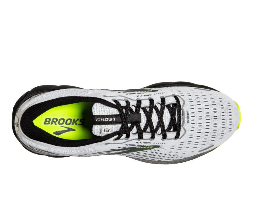tomaia scarpa running brooks ghost 13 riflettente