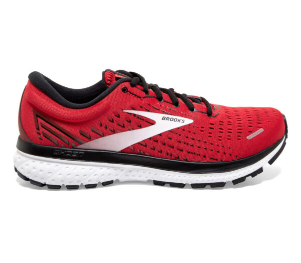 scarpa da running uomo brooks ghost 13 rossa