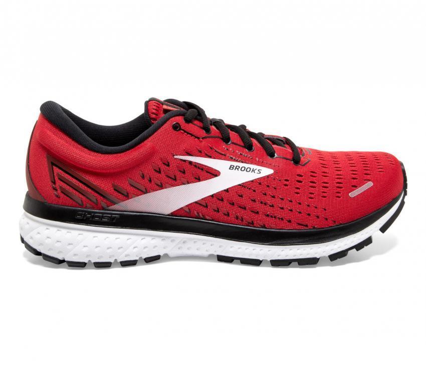 scarpa da running uomo brooks ghost 13 rossa