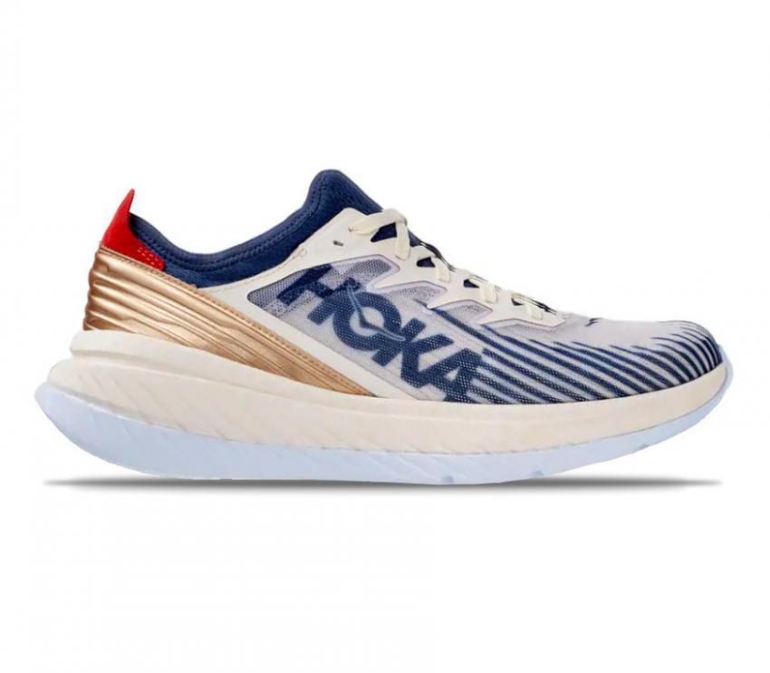 scarpa da running con suola in fibra di carbonio Hoka carbon x spe